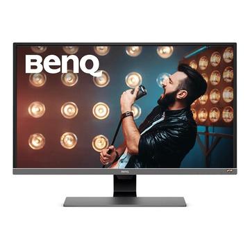 """Benq EW3270U 31.5"""" 4K Ultra HD LED Piatto Nero, Grigio, Metallico"""