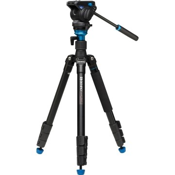 Benro Travel Angel Video Aero 4 A-2883 F con testa S4