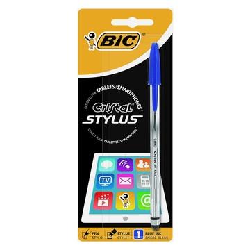 Bic Cristal Stylus penna per PDA Blu, Trasparente