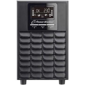 BlueWalker PowerWalker VFI 1000 CG PF1 Doppia conversione (online) 1000VA 4presa(e) AC Tower Nero