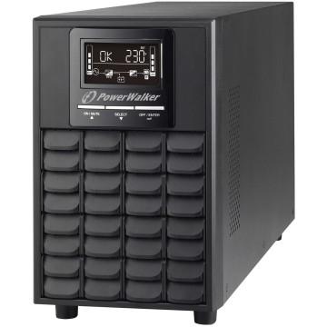 BlueWalker PowerWalker VFI 1500 CG PF1 Doppia conversione (online) 1500VA 4presa(e) AC Tower Nero