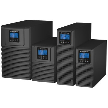 BlueWalker VFI 3000 TG Doppia conversione (online) 3000VA 5AC outlet(s) Torre Nero
