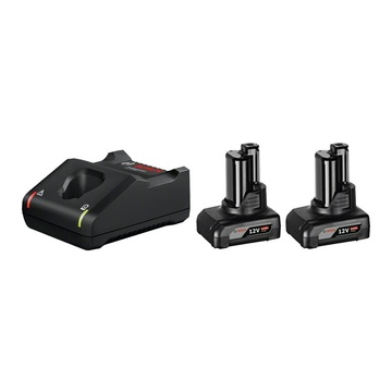 Bosch 1 600 A01 B20 Set batteria e caricabatterie