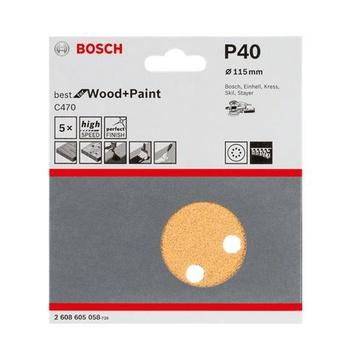 Bosch 2 608 605 086 accessorio per levigatrici 5 pezzo(i)