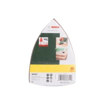 Bosch 2607017112 Carta abrasiva 25 pezzo(i)