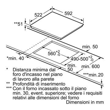 Bosch Serie 4 PUE611BB1E Incasso Induzione Zoneless Nero