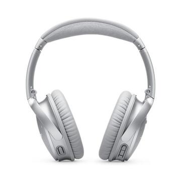 Bose QuietComfort Cuffie Wireless e Cablato Stereofonico Argento