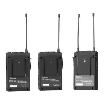 Boya BY-WM8-Pro-K2 UHF Sistema Wireless