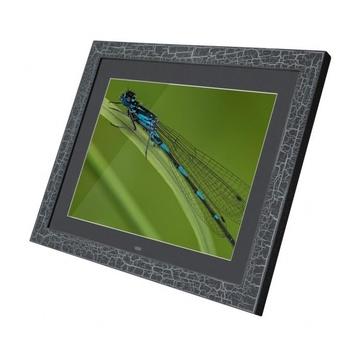 "Braun Phototechnik DigiFrame 15 Vintage Cornice per foto digitali 15"" Nero"