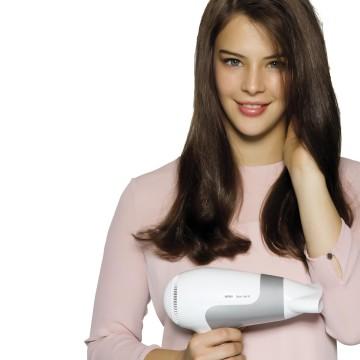 Braun Satin Hair 5 HD 580 2500W Grigio, Bianco
