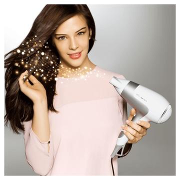 Braun Satin Hair 5 HD 585 Grigio, Bianco 2500 W