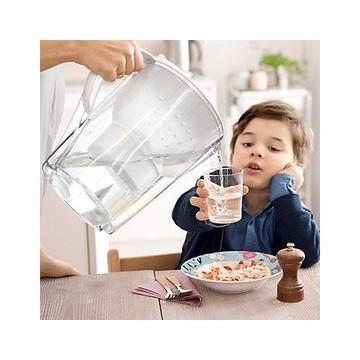 BRITA Marella XL Filtro acqua per brocca 3.5L Trasparente, Bianco
