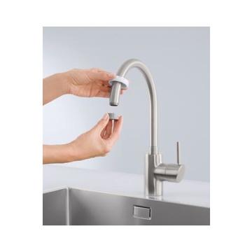 BRITA Sistema On Tap Filtro per l'acqua del rubinetto Argento, Bianco