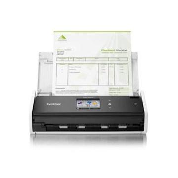 Brother ADS-1600W 600 x 600 DPI Scanner ADF Nero, Bianco A4