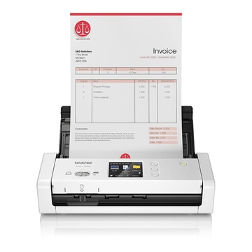 Brother ADS-1700W 600 x 600 DPI Scanner ADF Nero, Bianco A4