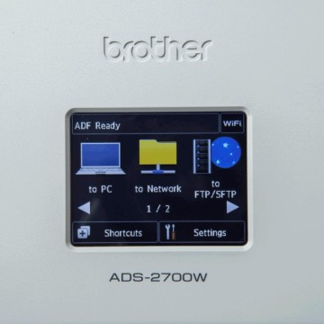 Brother ADS-2700W Nero, Bianco