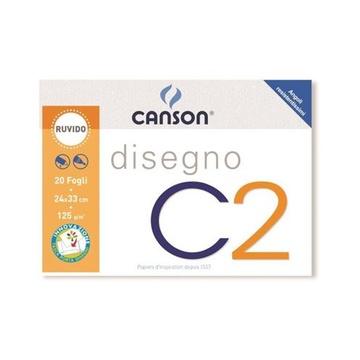 Canson C2 Art paper pad 20 fogli