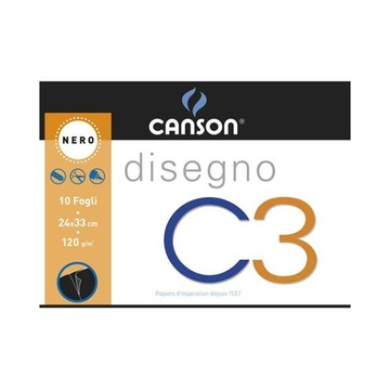 Canson C3 Art paper pad 10 fogli