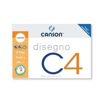 Canson C4 100500453 Art paper pad 20 fogli