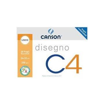 Canson C4 Art paper pad 20 fogli
