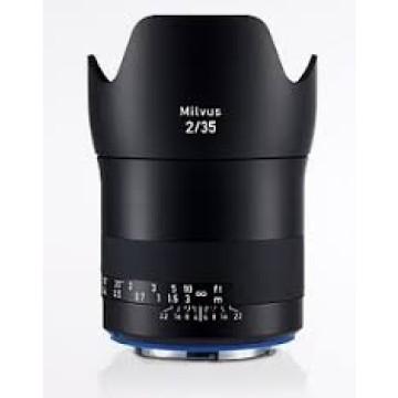 Zeiss Milvus 35mm f/2.0 ZE Canon