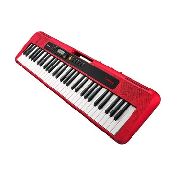 Casio CT-S200 Tastiera USB MIDI 61 chiavi Rosso, Bianco
