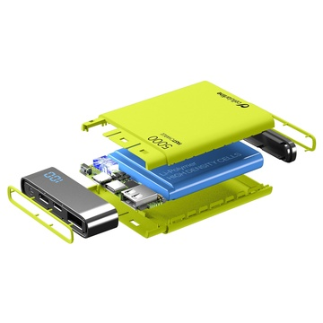 Cellular Line FreePower Manta HD 5000 Universal Verde