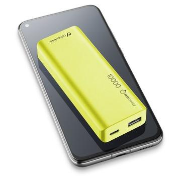 Cellular Line FreePower Slim 10000 - Universale Verde