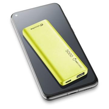 Cellular Line FreePower Slim 5000 Universale Verde