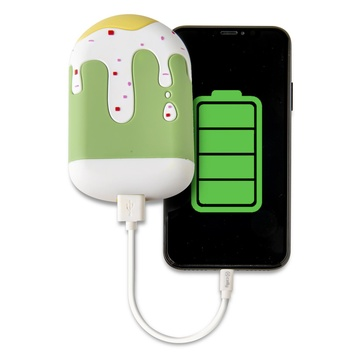 CELLY Ice Lolly Verde, Bianco, Giallo 2600 mAh