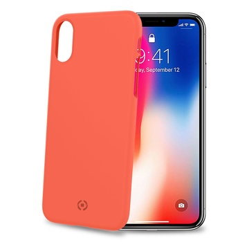 "CELLY SHOCK900OR 5.8"" Cover iPhone X/XS Arancione"