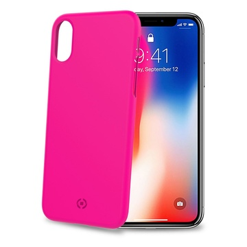 """CELLY SHOCK900PK 5.8"""" Cover iPhone X/XS Rosa"""