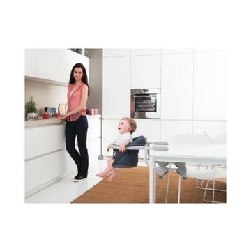 Chicco 360 ° Sedia da tavolo per bambino da aggancio Seduta imbottita Grigio
