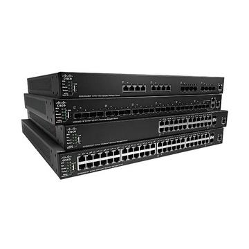 Cisco 550X Gestito L2/L3 10G Ethernet 1U Nero