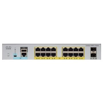 Cisco Catalyst 2960L-16PS-LL Gestito L2 Gigabit Grigio 1U PoE