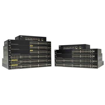 Cisco SF250-48-K9-EU Gestito L2 Fast Ethernet (10/100) Nero
