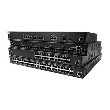 Cisco SX350X-08-K9-EU Gestito L2/L3 10G Ethernet Nero