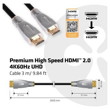 Club3D CAVO HDMI TO HDMI 2.0 3MT M/M