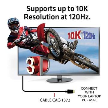 Club3D HDMI 2.1 Ultra High Speed 10K 120HZ 2 Metri