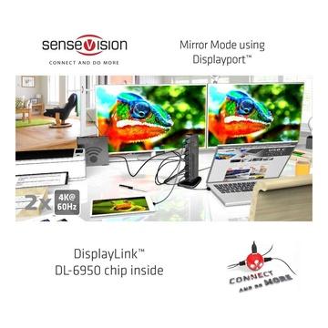 Club3D USB 3.0 Dual Display 4K60Hz Docking Station