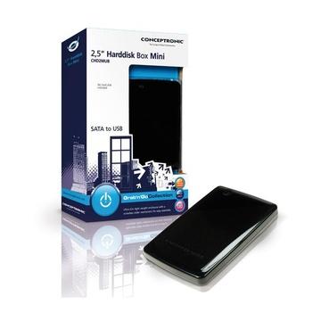 CONCEPTRONIC Box 2,5 Conceptronic CHD2MUB SATA-USB2.0(black)