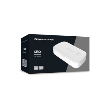 CONCEPTRONIC CIRO01W sterilizzatore a raggi ultravioletti Bianco 275 nm UV-C DC