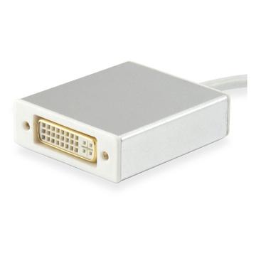 CONCEPTRONIC Equip 133453 cavo di interfaccia e adattatore USB Type C DVI Bianco