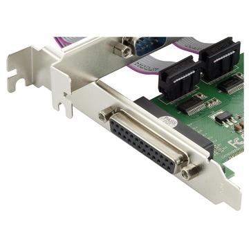 CONCEPTRONIC SPC01G scheda di interfaccia e adattatore Parallelo, RS-232 Interno