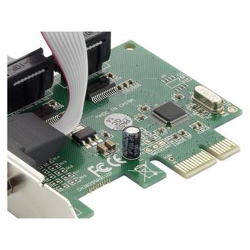 CONCEPTRONIC SRC01G scheda di interfaccia e adattatore RS-232 Interno