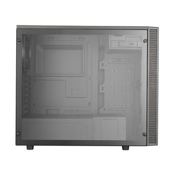 Cooler Master MasterBox E500L con finestra trasparente Led Silver Mid Tower