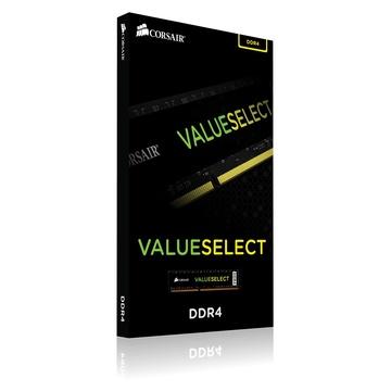Corsair ValueSelect 4 GB, DDR4, 2666 MHz