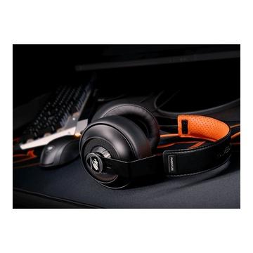 COUGAR Phontum S Cuffia Gaming Nero, Arancione