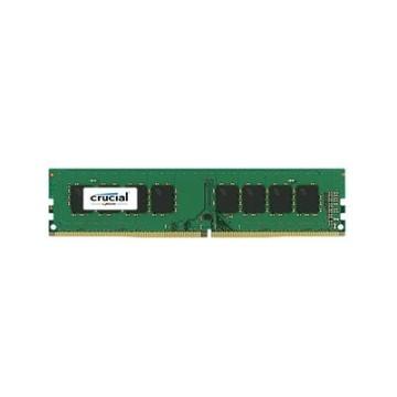 Crucial 8GB DDR4 2400 MT/s DIMM 288pin DR x8 unbuffered single