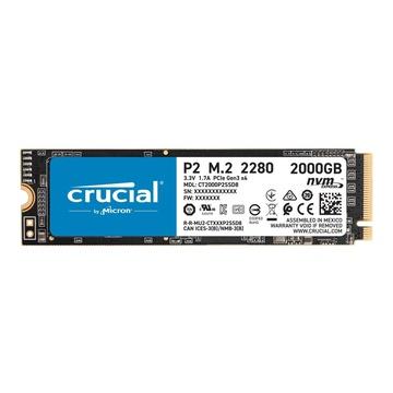 Crucial P2 M.2 2 TB PCI Express 3.0 NVMe